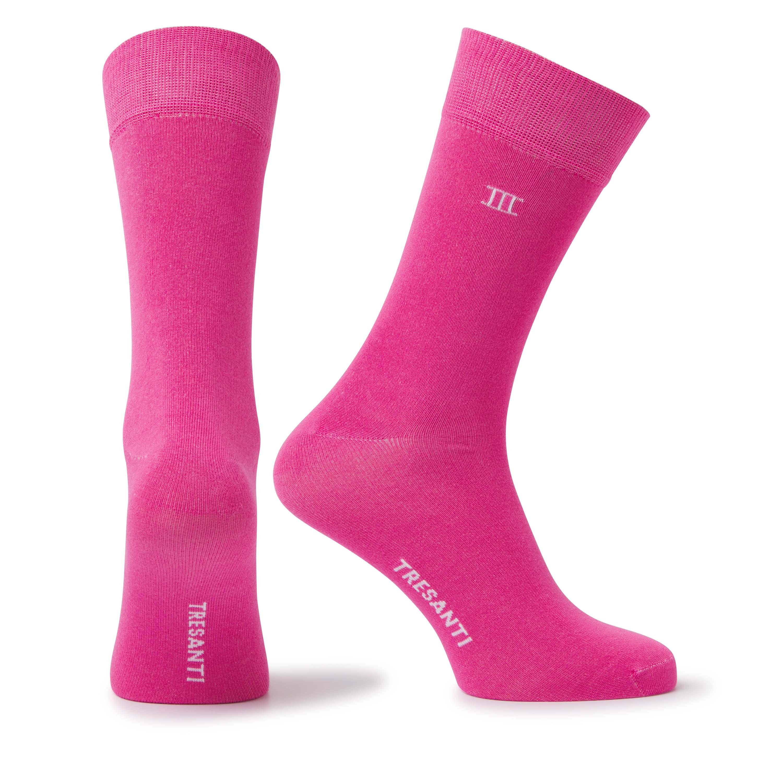 Socks bamboo pink