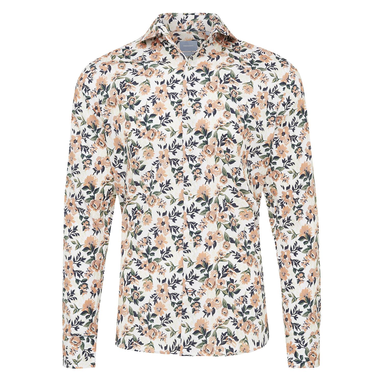 Mischa | Shirt white allover flower print