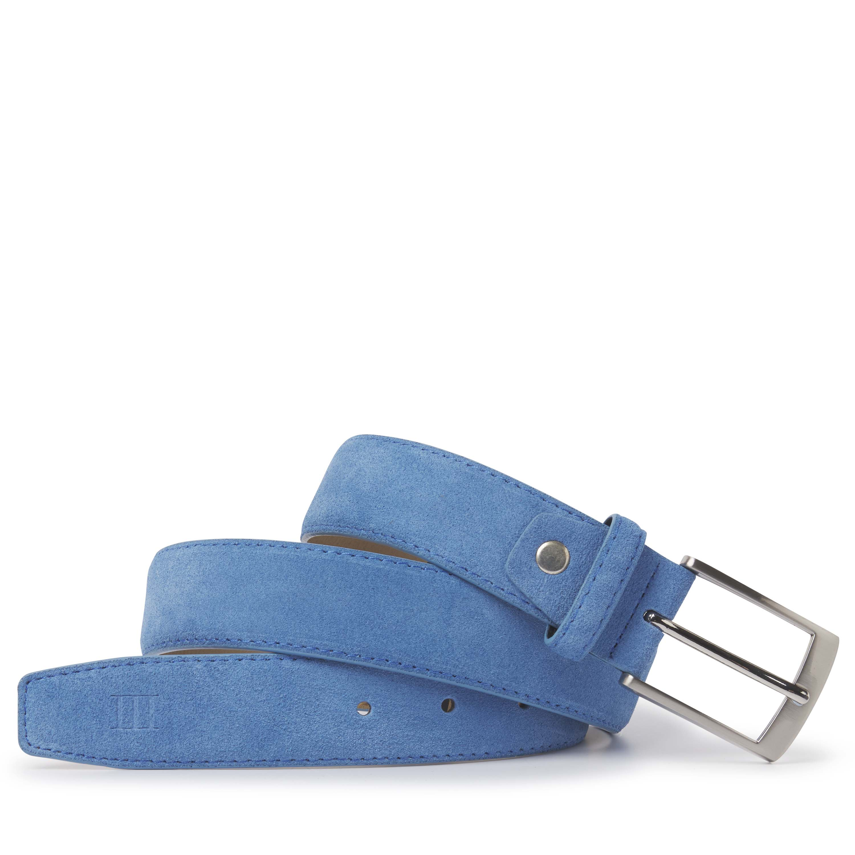 Tyler | Belt suede blue