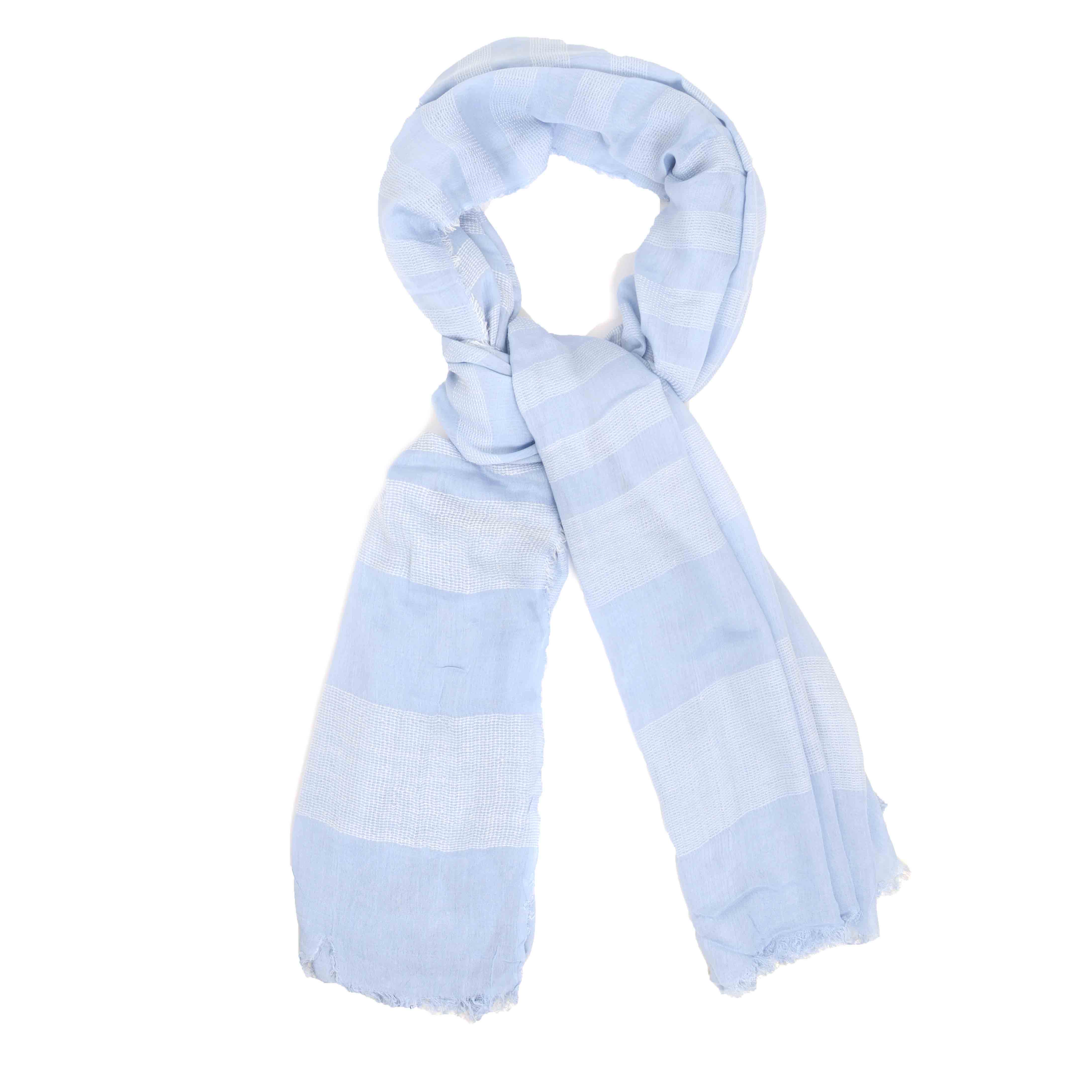Matiz   Scarf with different shades of blue