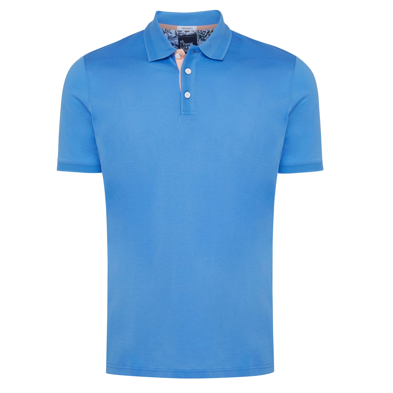 Tripp | Poloshirt mercerized sky blue