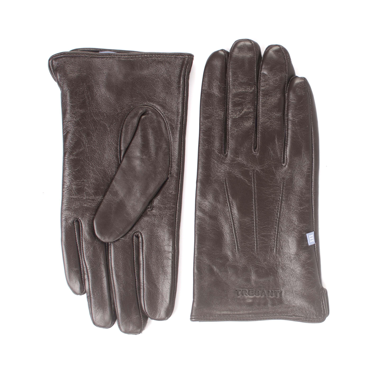 Jetsen | Plain brown leather gloves