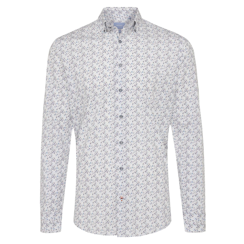 Marein | Shirt multicolour fantasy print - organic cotton