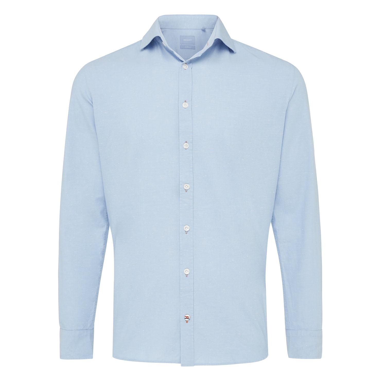 Miguel   Shirt light blue plain