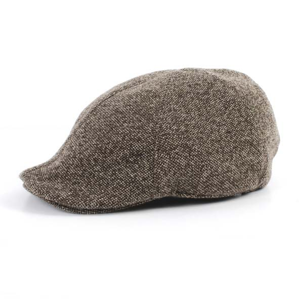 Flatcap, beige melange
