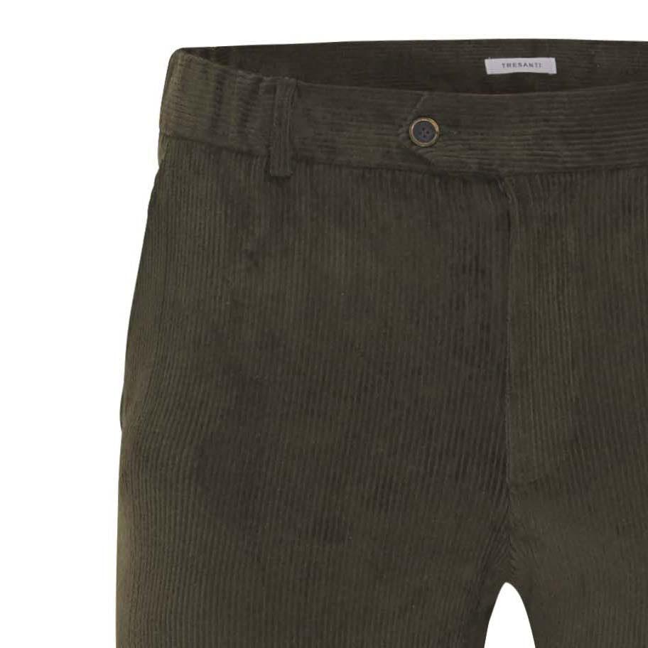 Jackson   Trousers stretch corduroy green