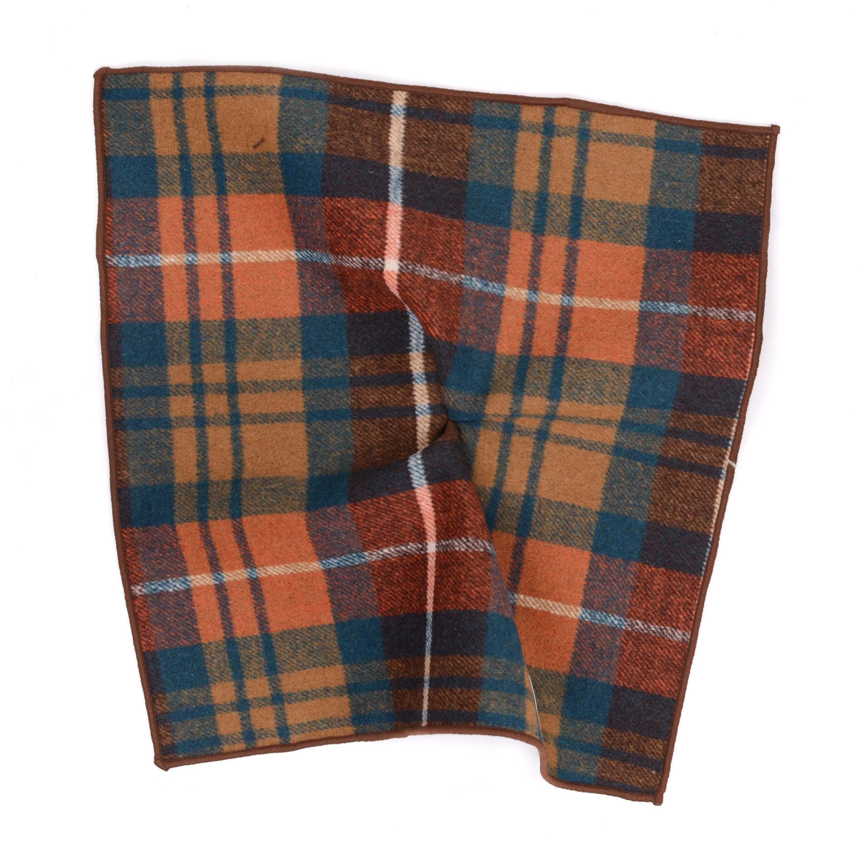 Pocket square woolblend English Check