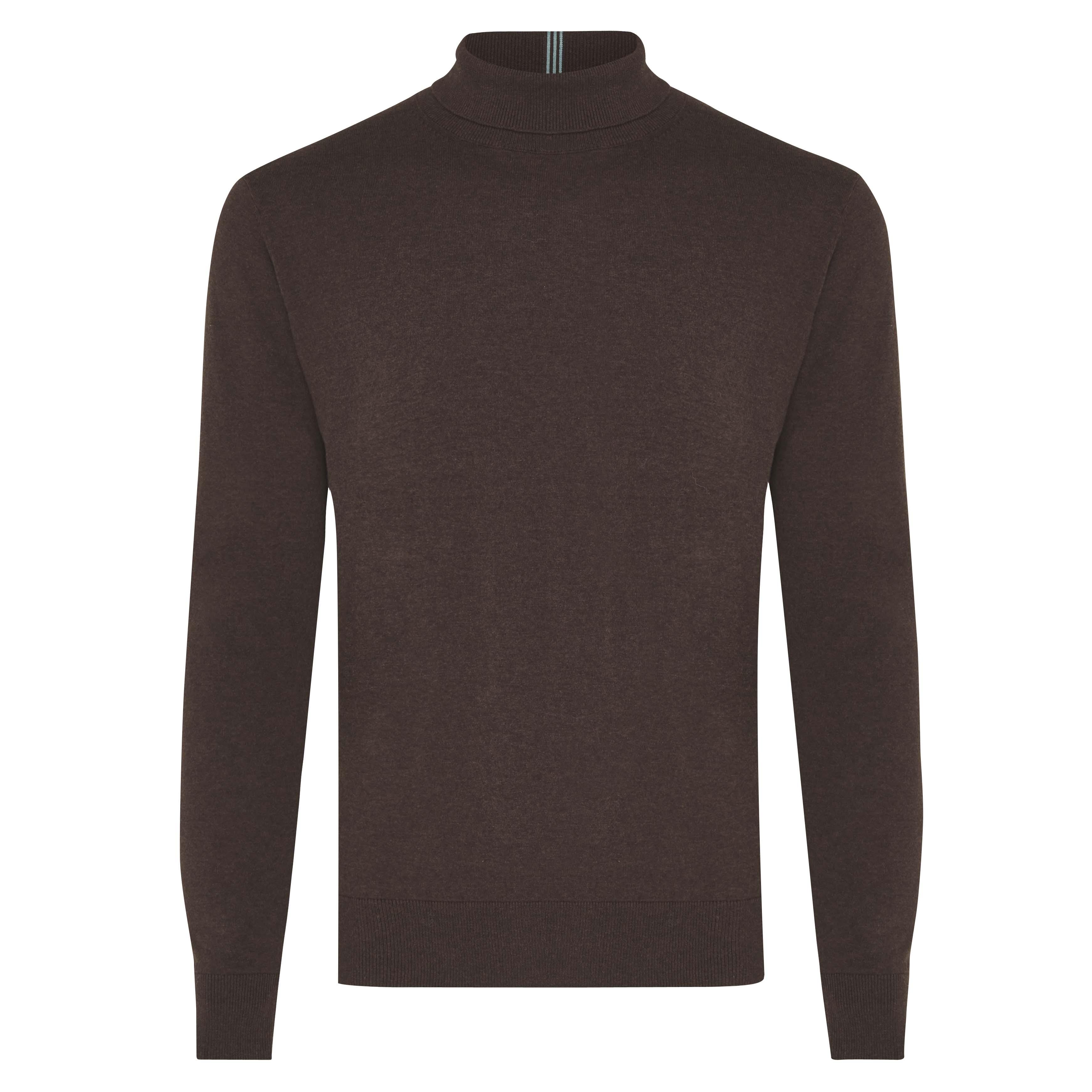Jakob | Pullover turtleneck brown