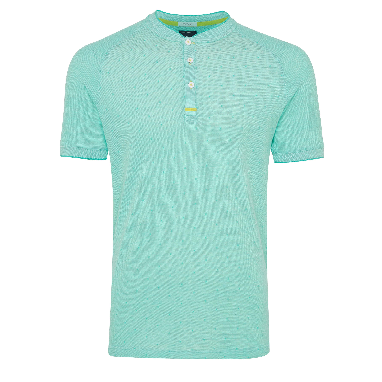 Terrence | T-shirt raglan mint green