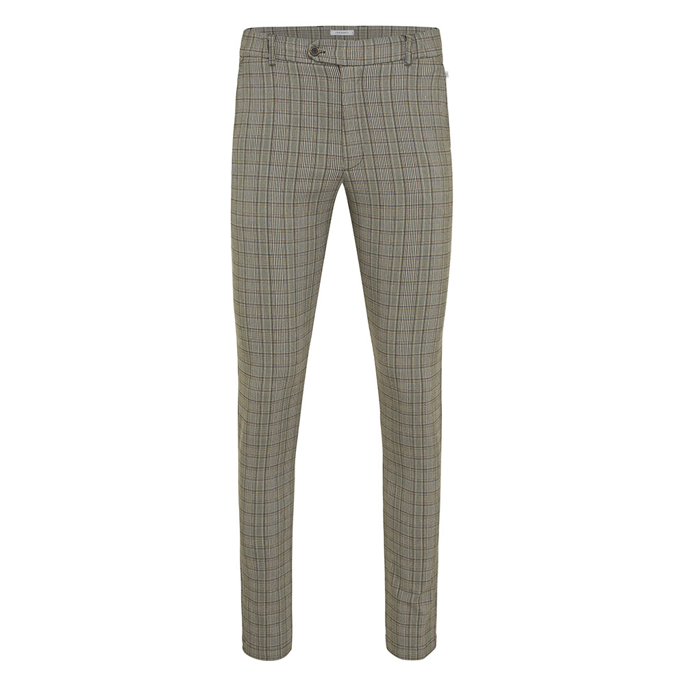 Jules | Trousers checked in light grey