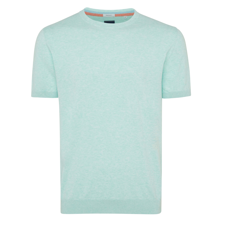 Travis | Pullover short sleeve mint green