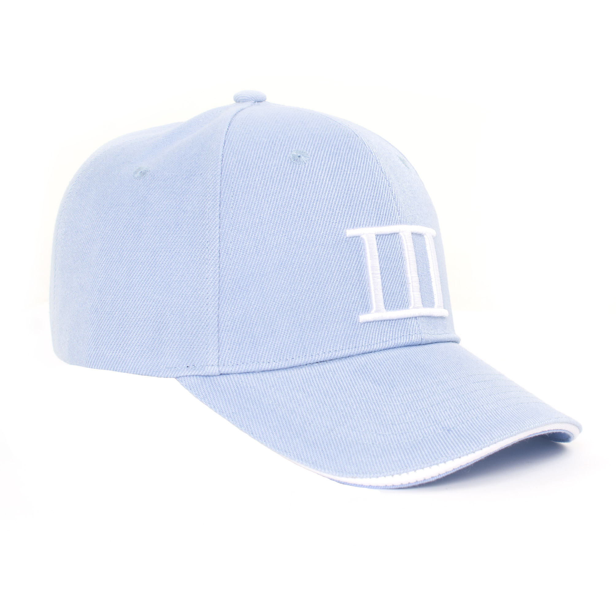 Tommy   Cap branded Tresanti light blue