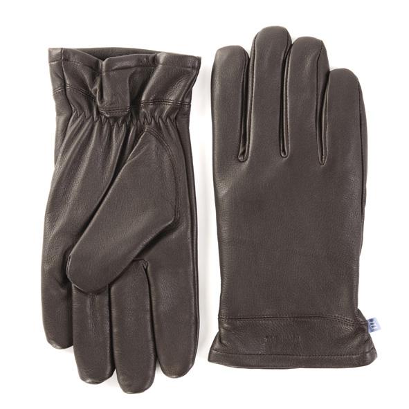 Gloves brown deer leather