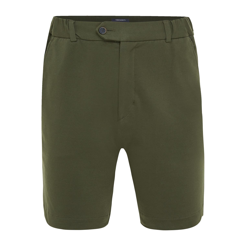 Trey | Shorts stretch army green