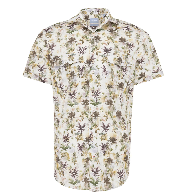 Miko | Shirt pastel flower print