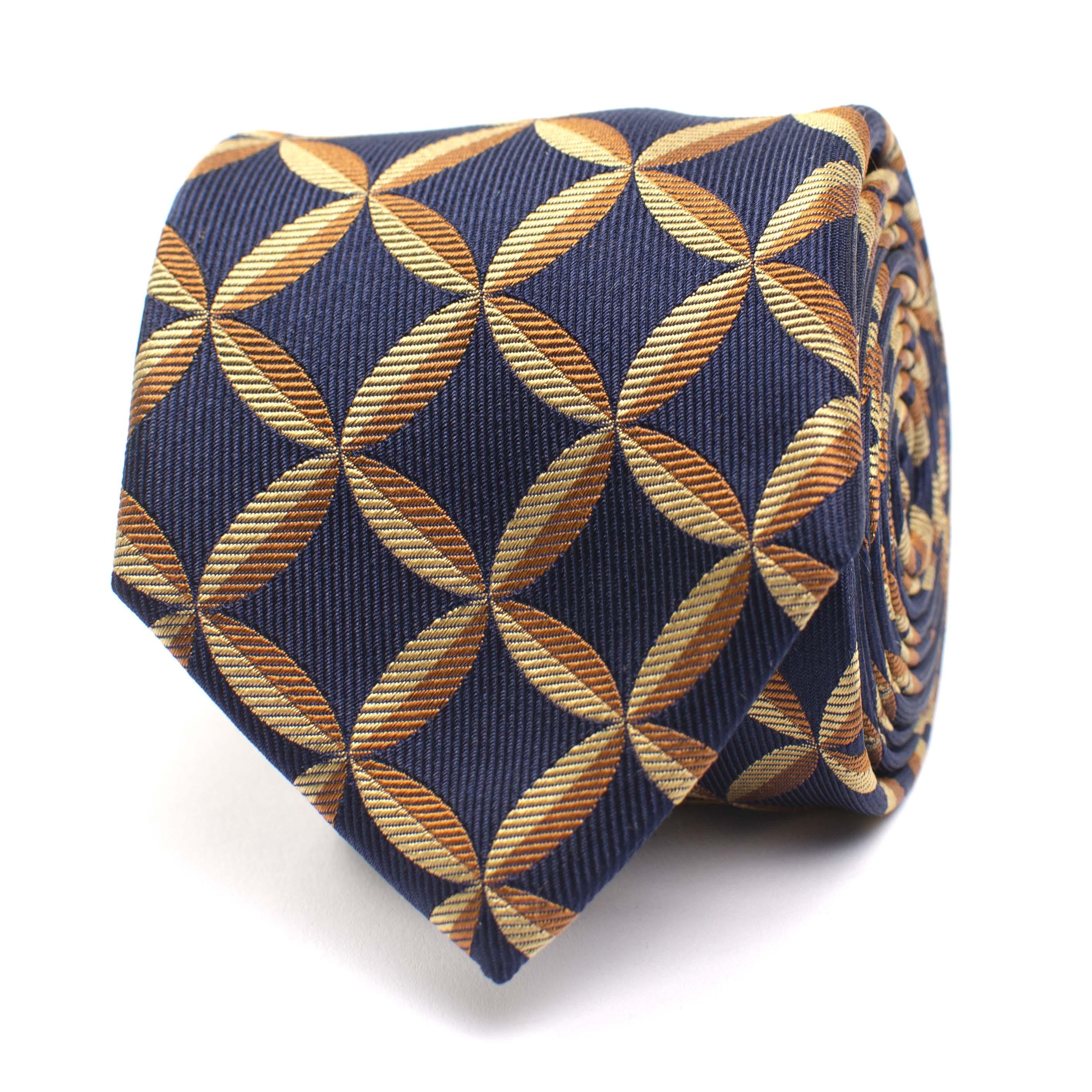 Jaxen | Silk tie with fanstasyprint