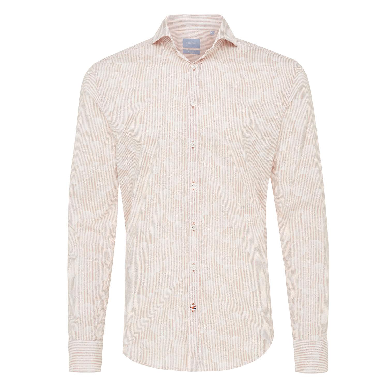 Mizan | Shirt stripe/flower pink