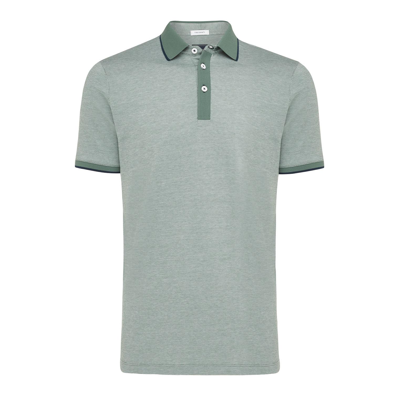 Tomas | Poloshirt detailed army green