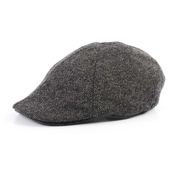 Flatcap, grey melange