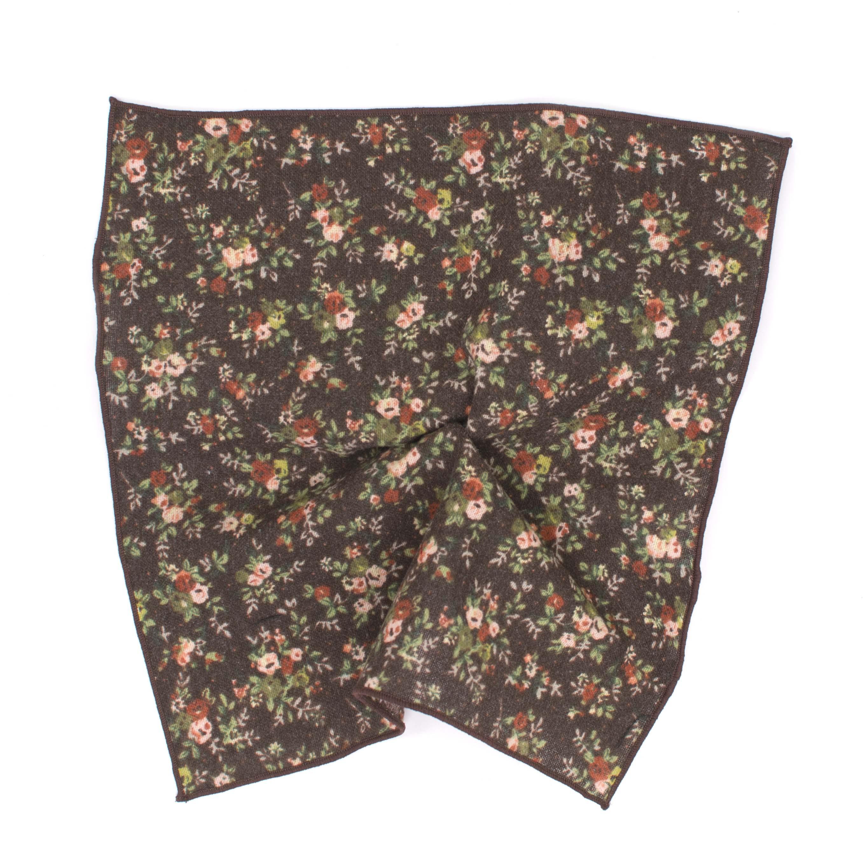 Pocket square cotton print