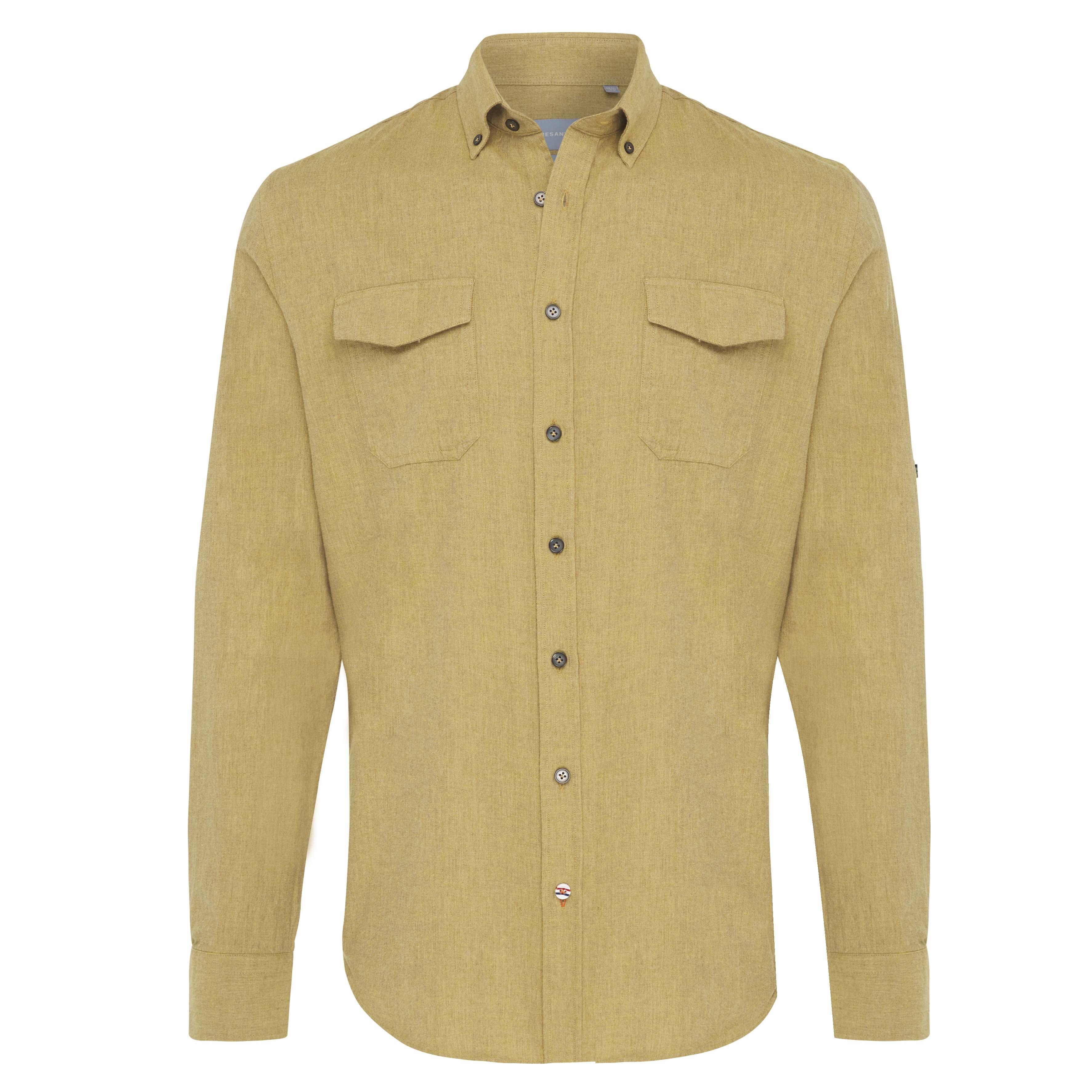Jasper | Plain flannel shirt