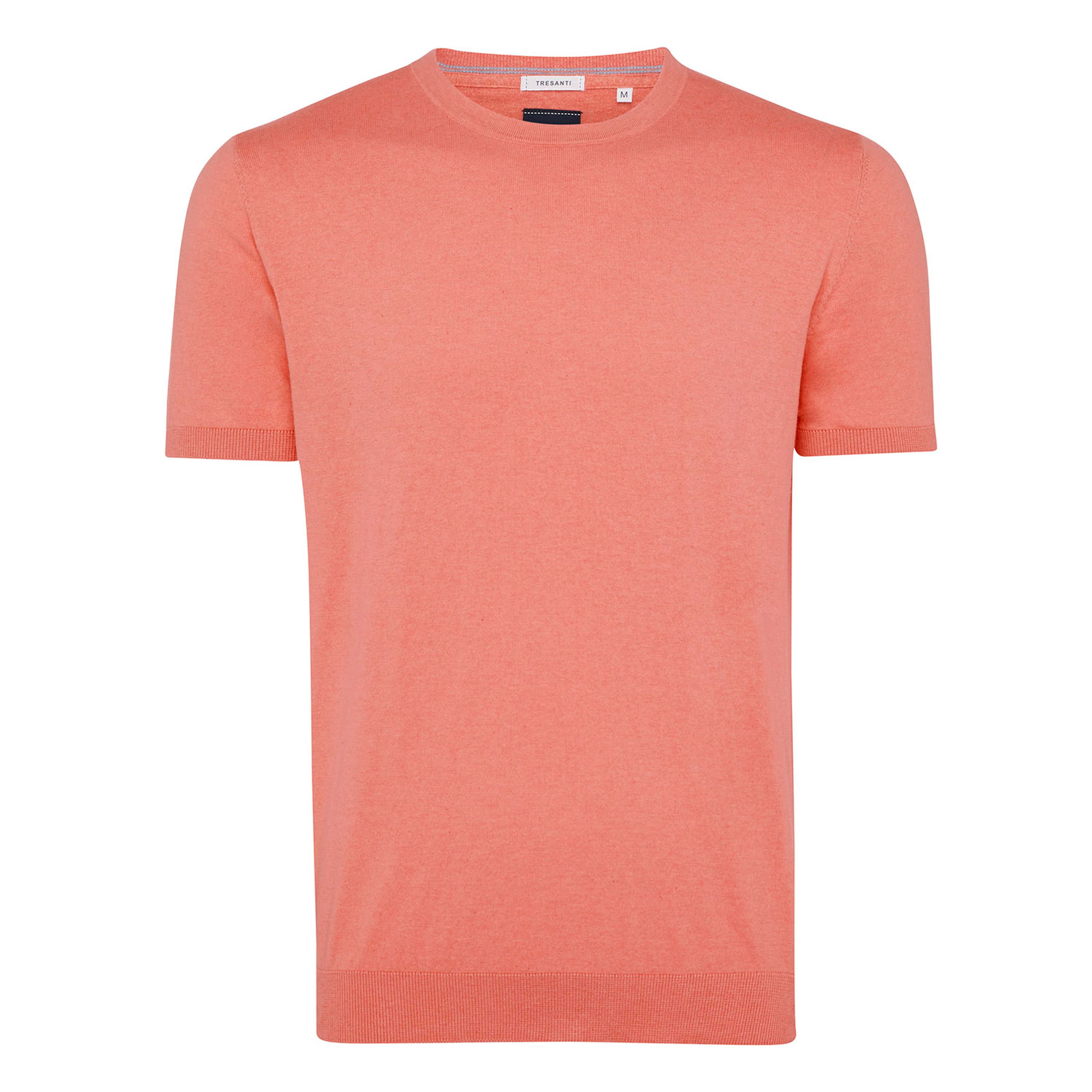 Travis | Pullover short sleeve coral