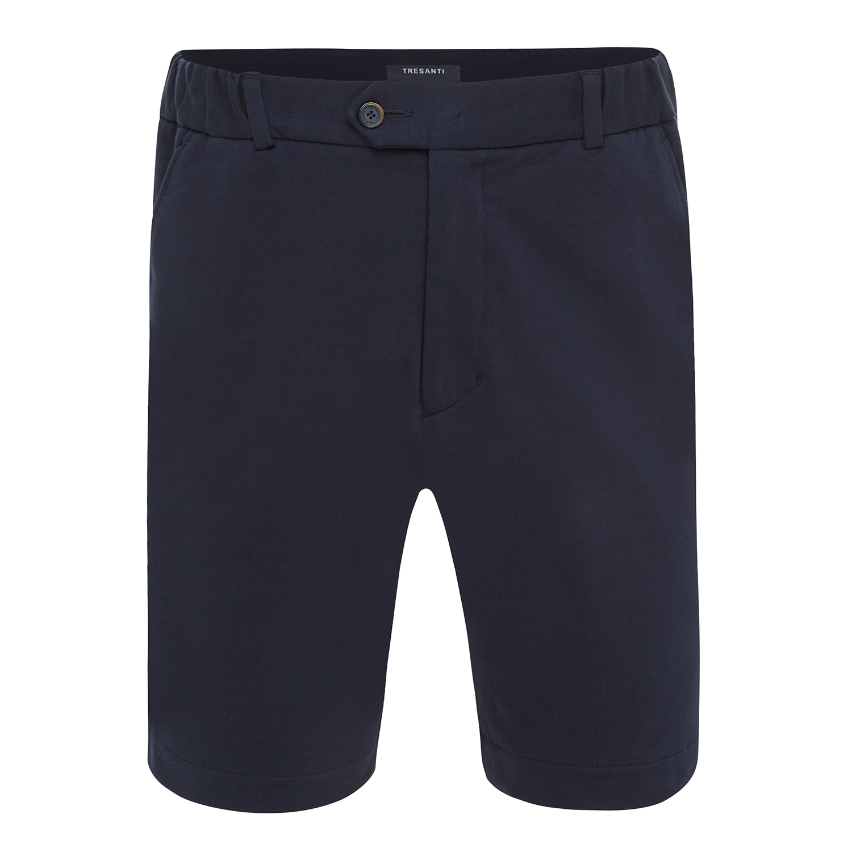 Trey | Stretch shorts navy