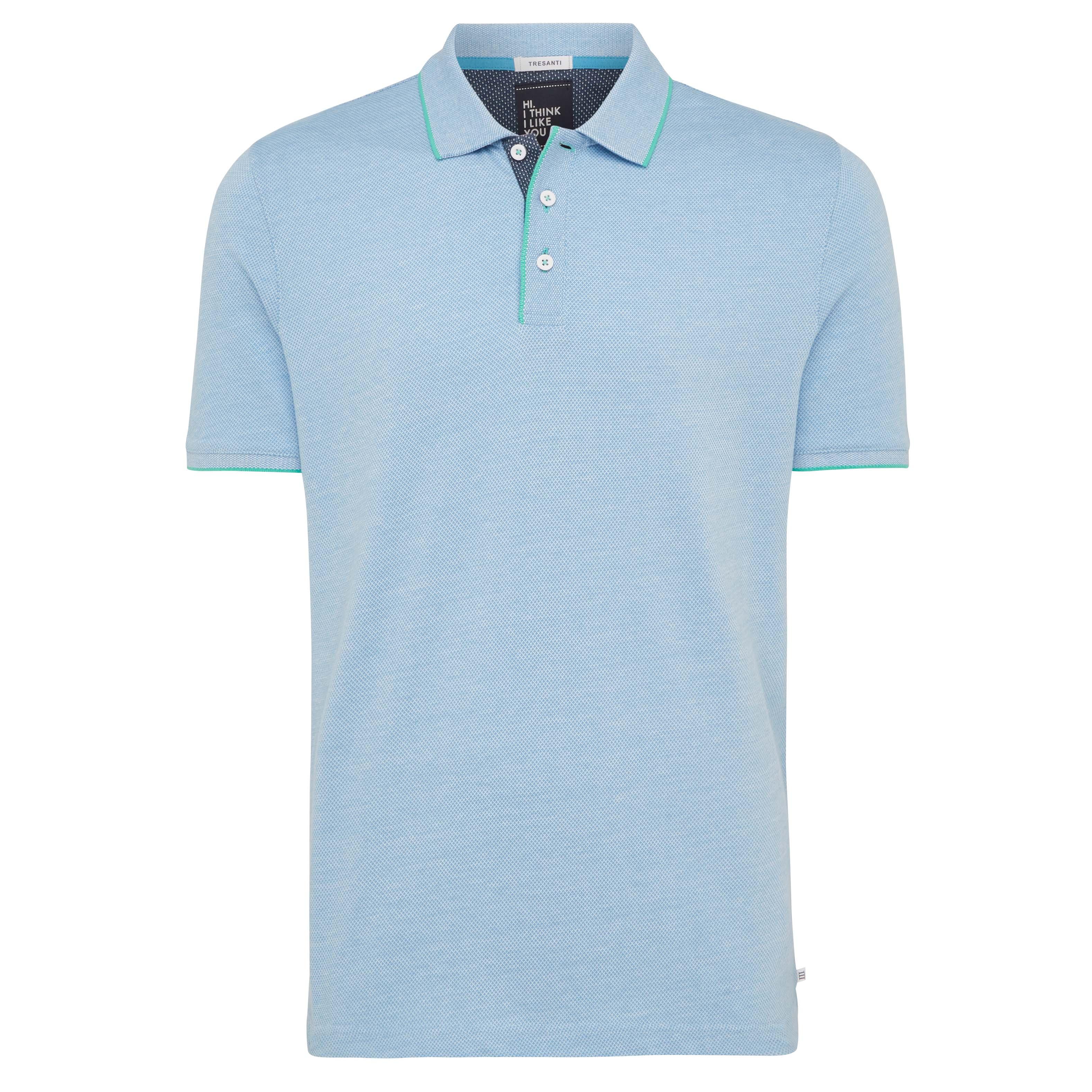 Tomas | Poloshirt light blue