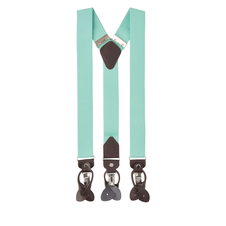 Trent | Braces mint green