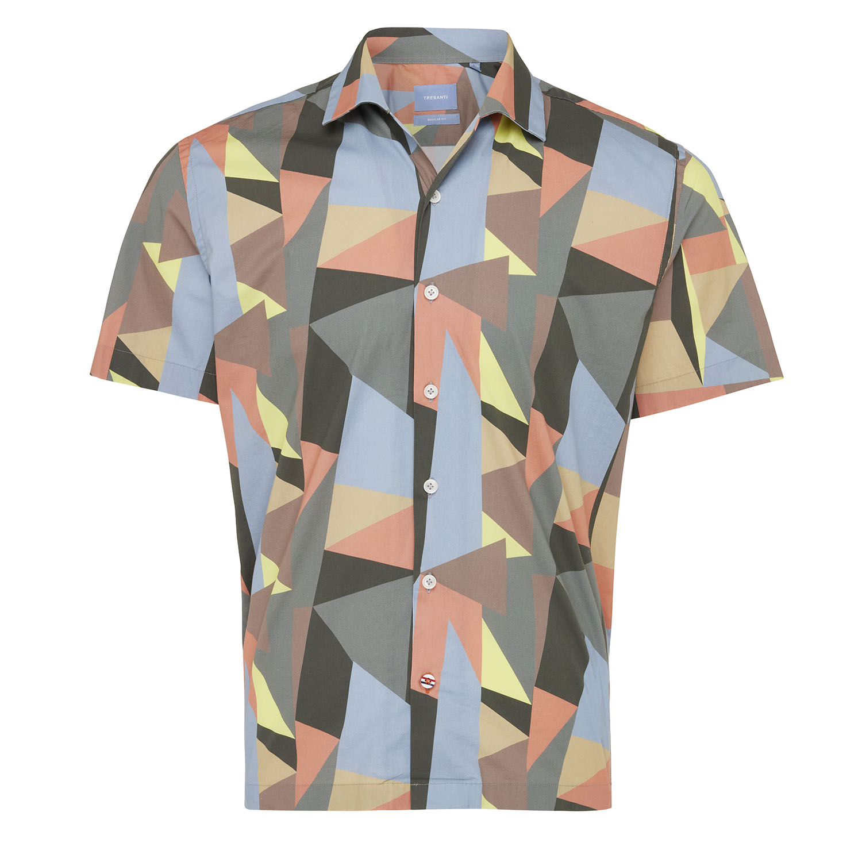 Max | Shirt short sleeve geo print multi