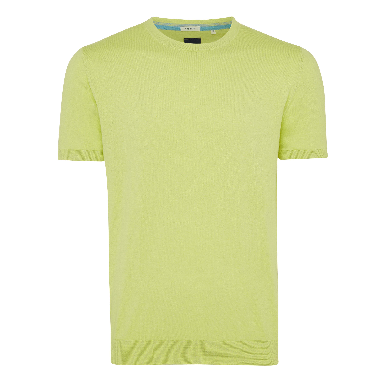 Travis | Pullover short sleeve yellow
