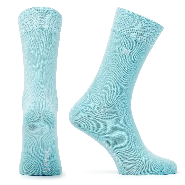 Bamboo socks aqua