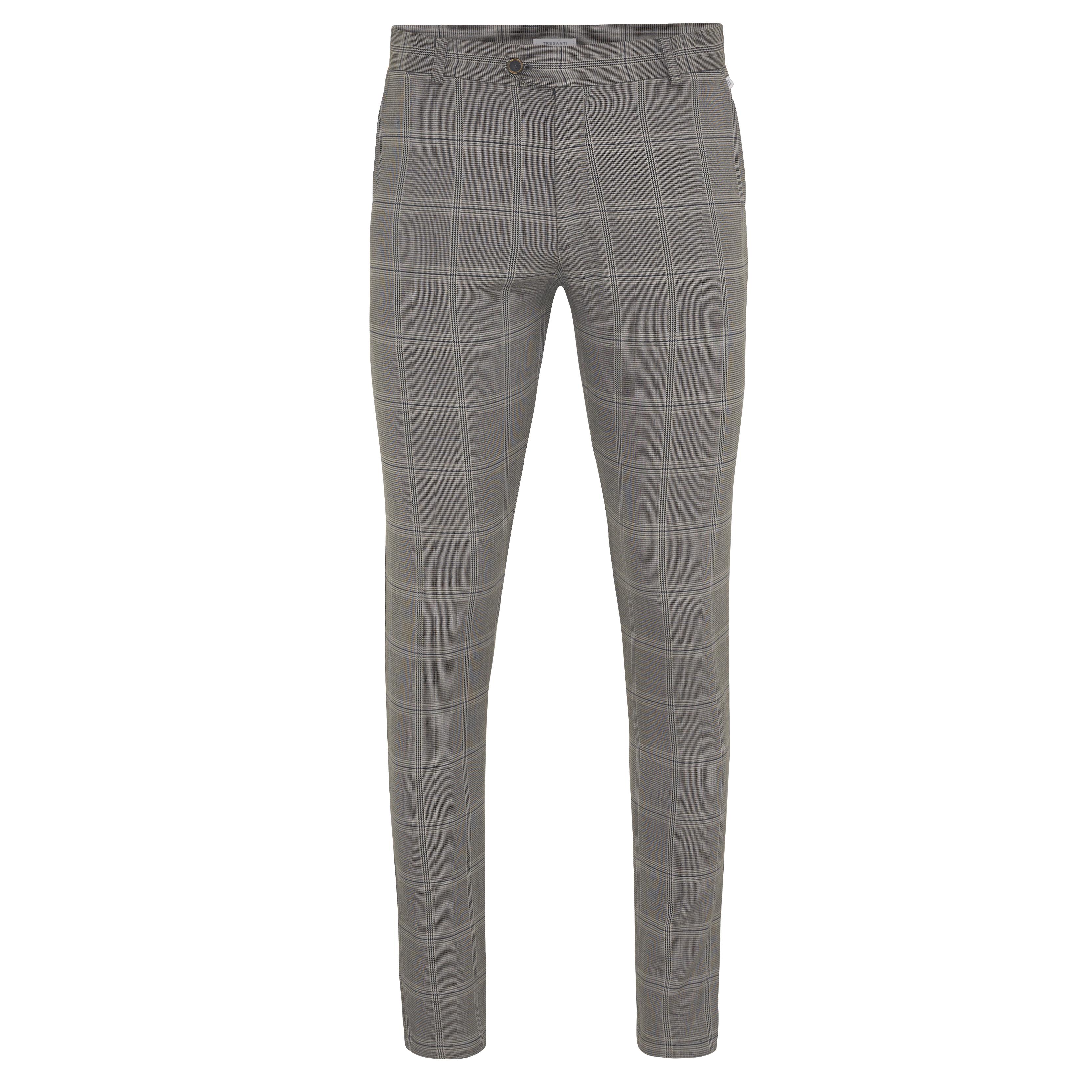 Jake | Trousers stretch prince de galles grey