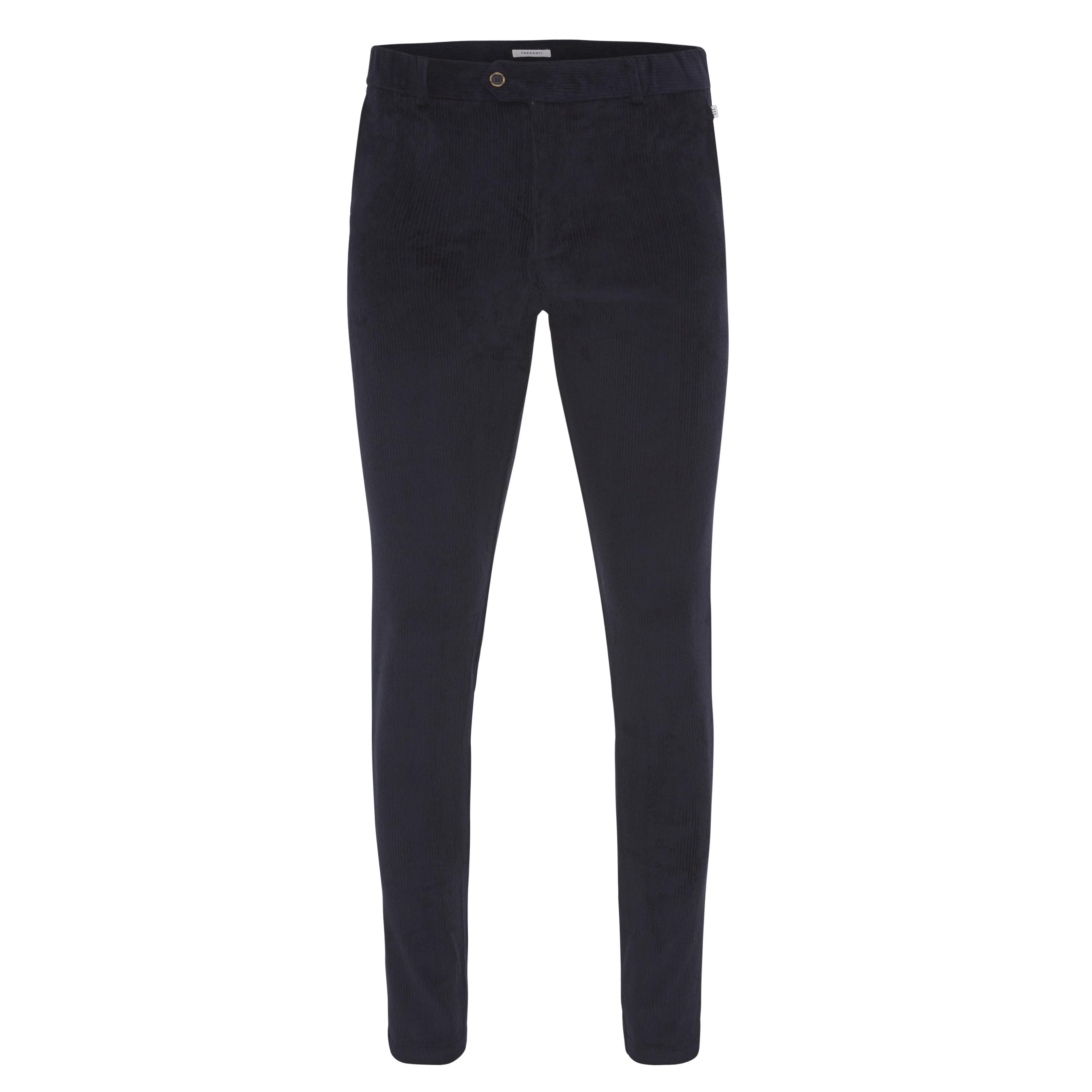 Jackson | Trousers stretch corduroy navy