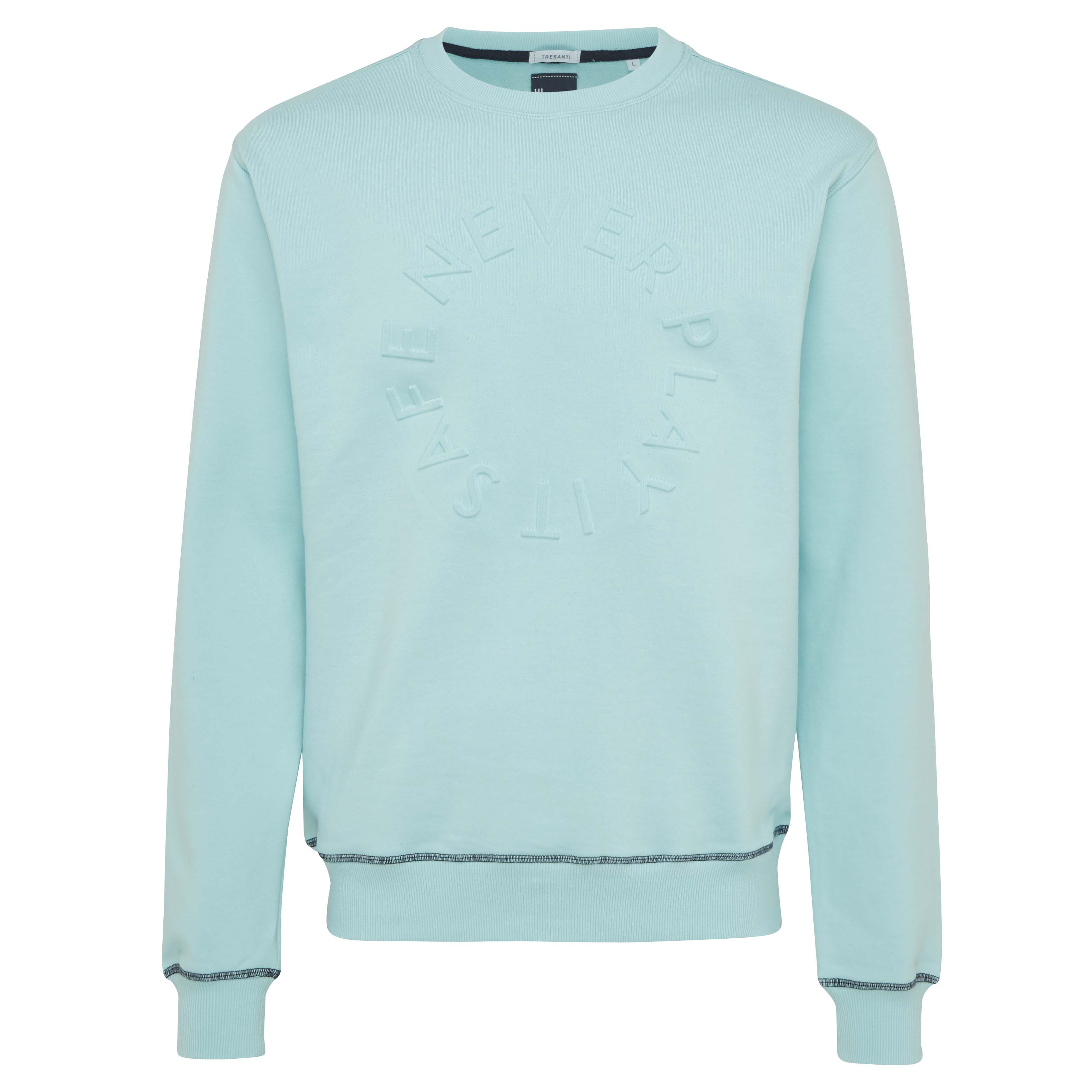 Ted | Sweater round-neck mint green