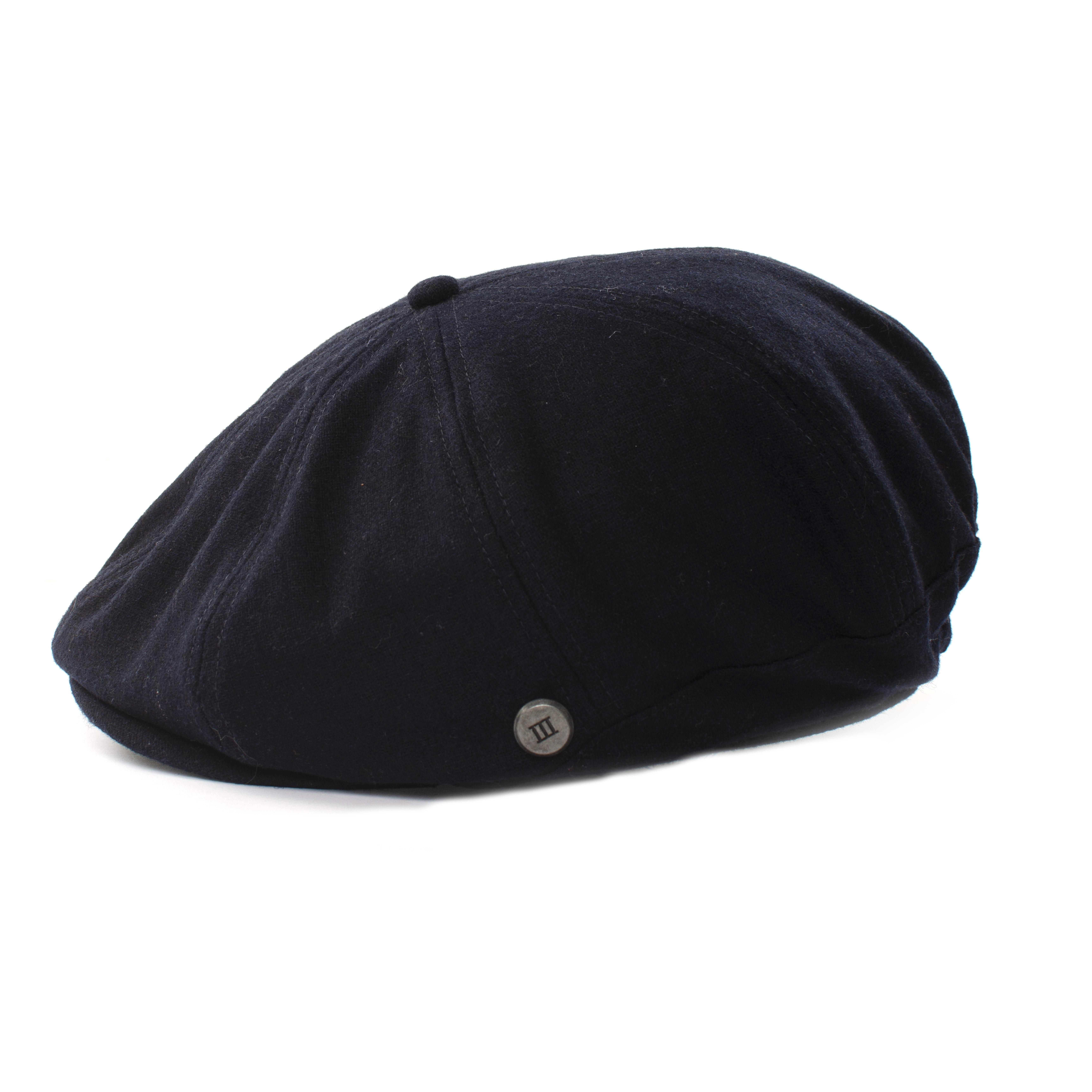 Jezz   Flatcap twill navy