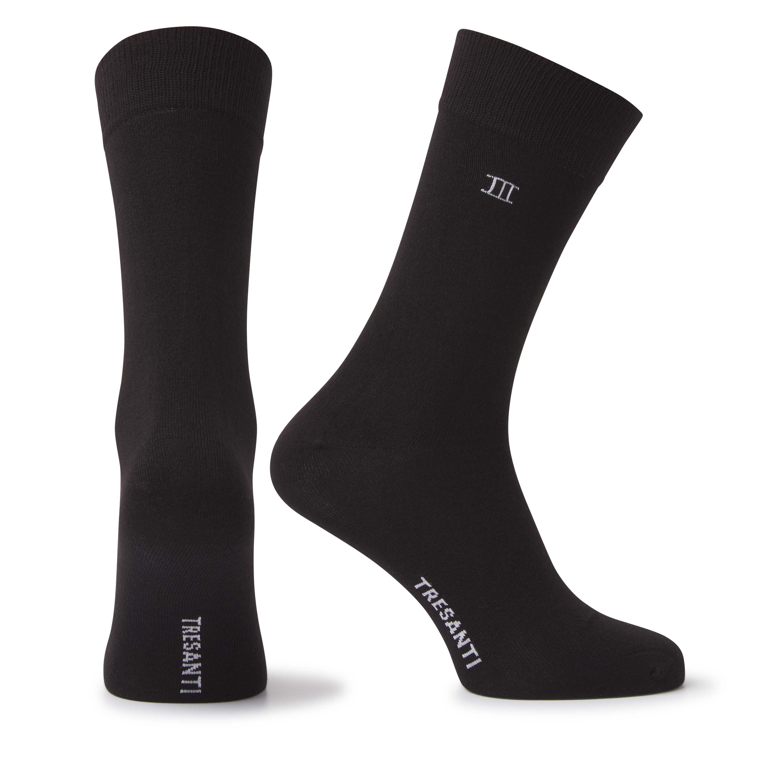 Socks bamboo black
