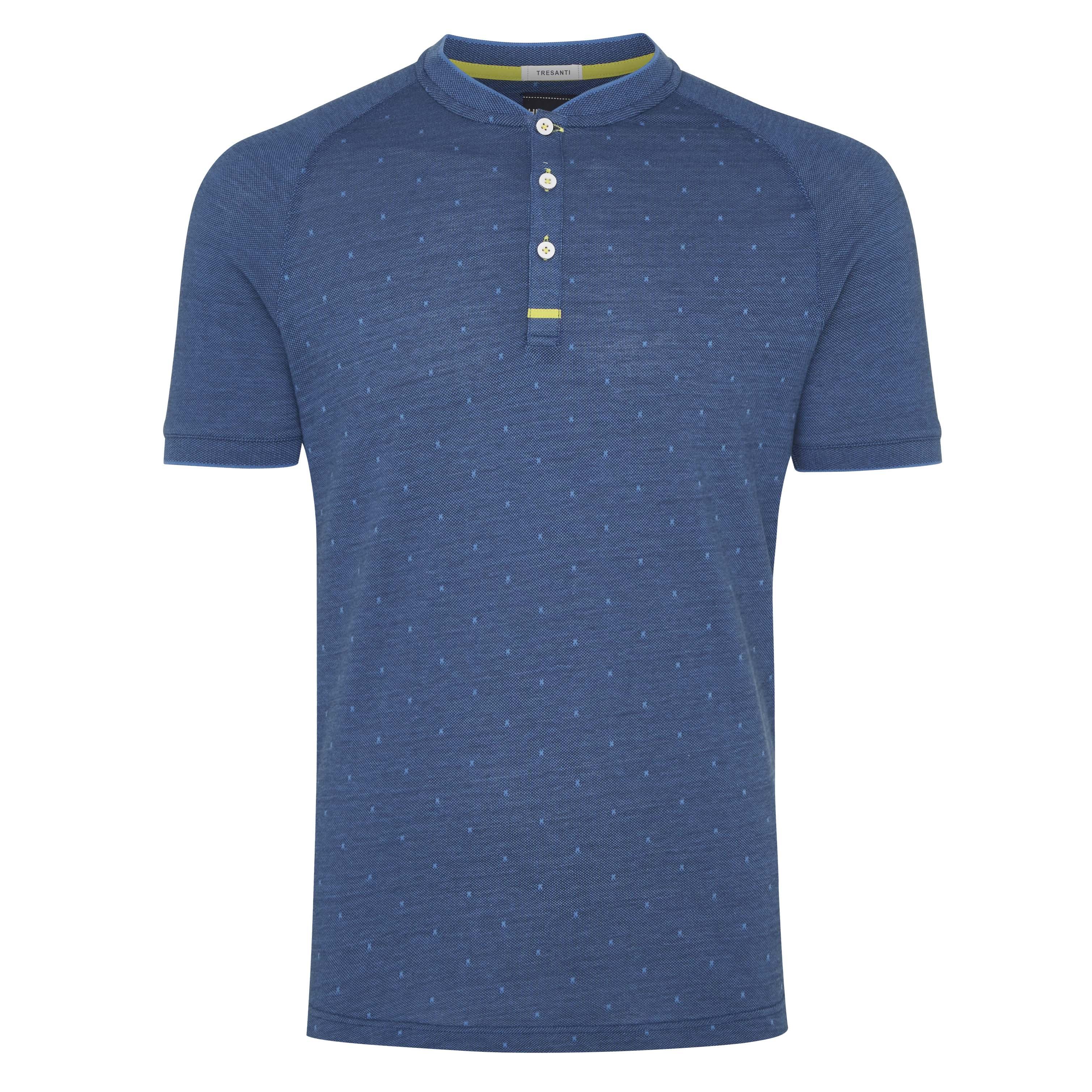 Terrence | T-shirt raglan dark blue