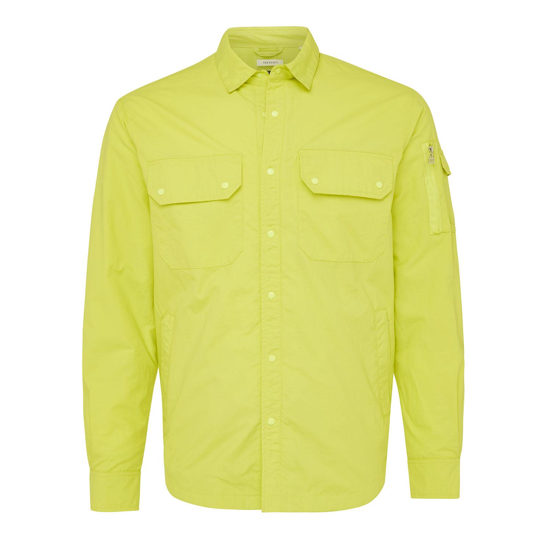 Memphis | Jacket cargo pockets bright yellow