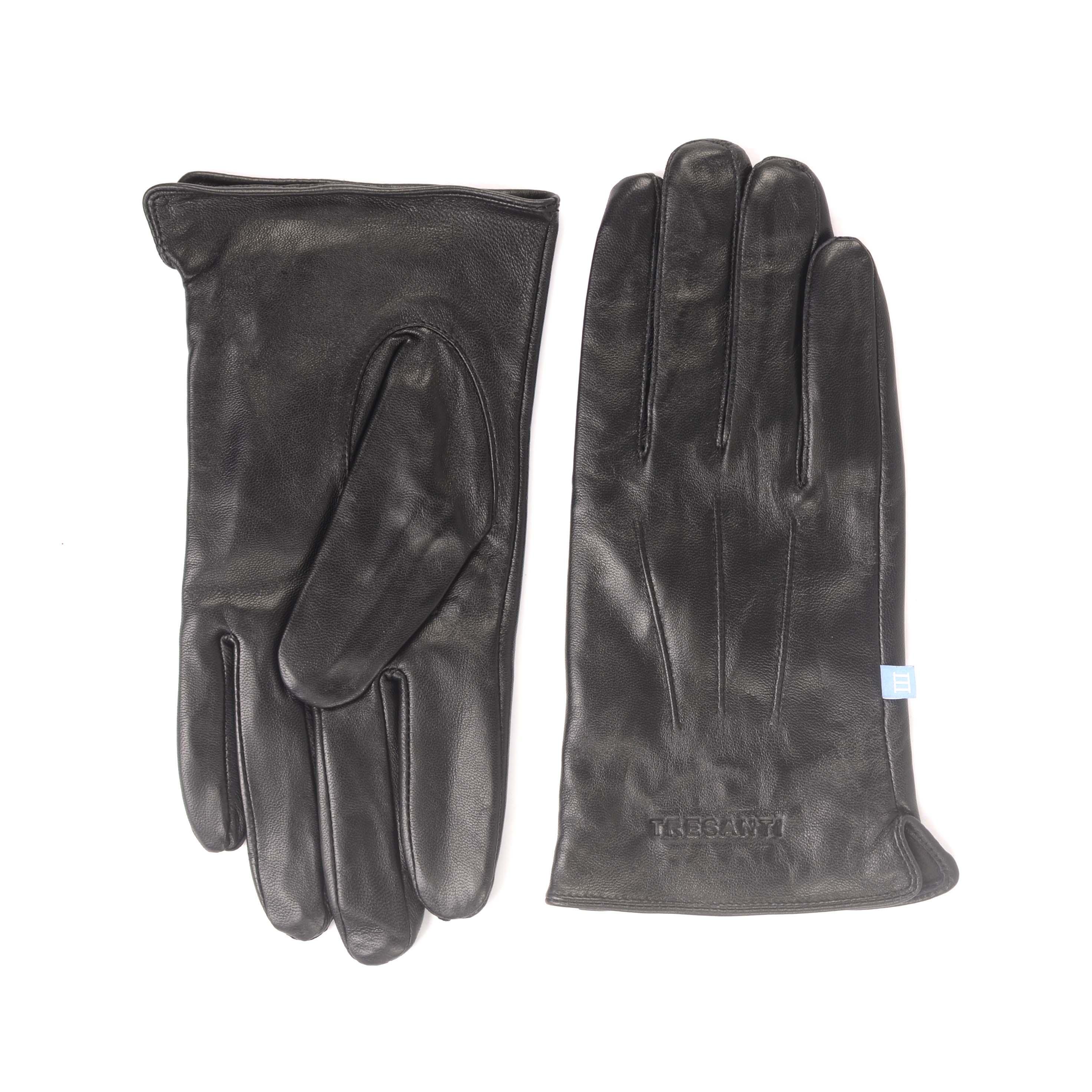 Jetsen | Gloves plain black leather