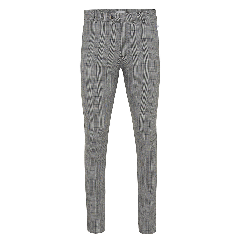 Jesse |  Trousers checked in light grey