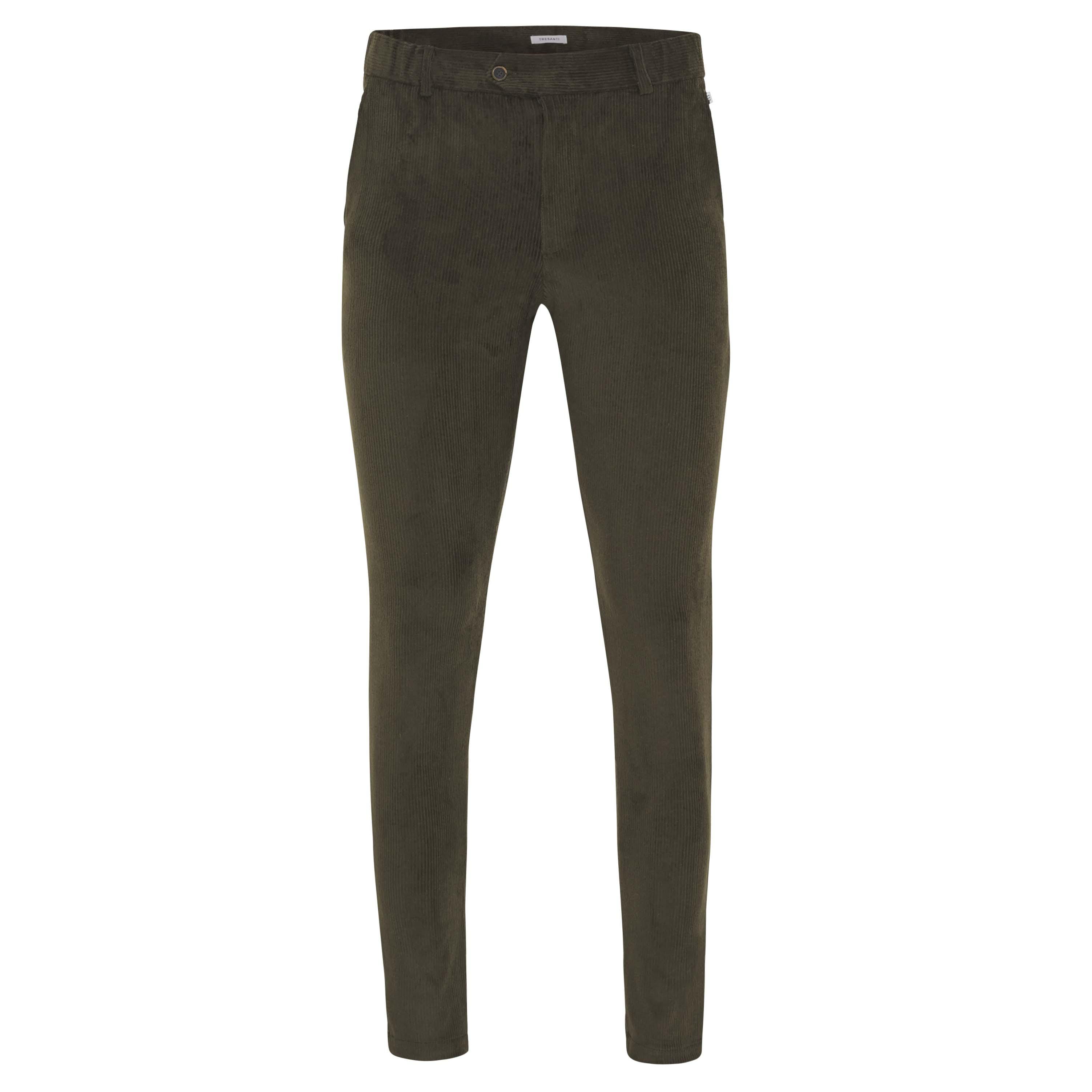 Jackson | Trousers stretch corduroy green