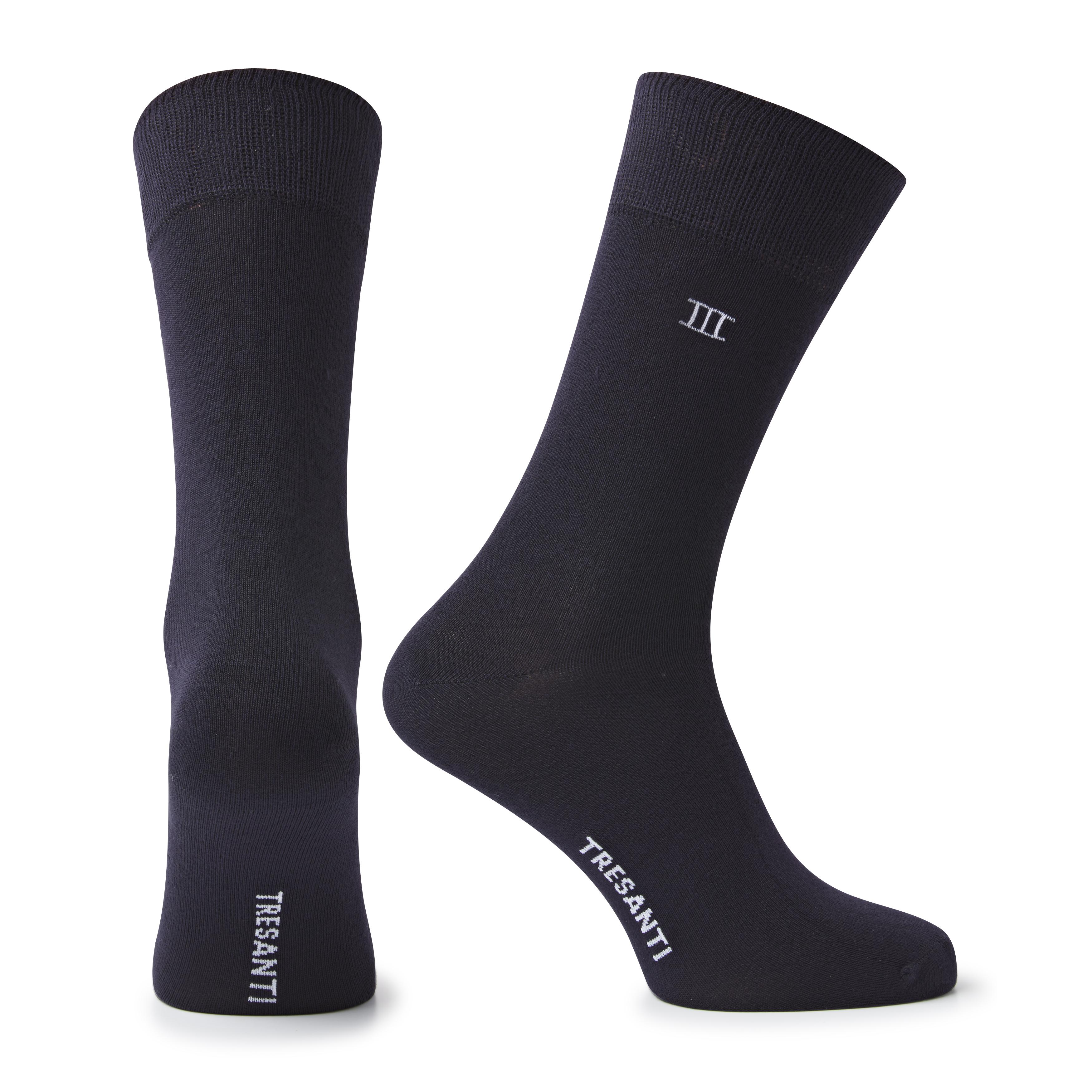 Socks bamboo dark blue