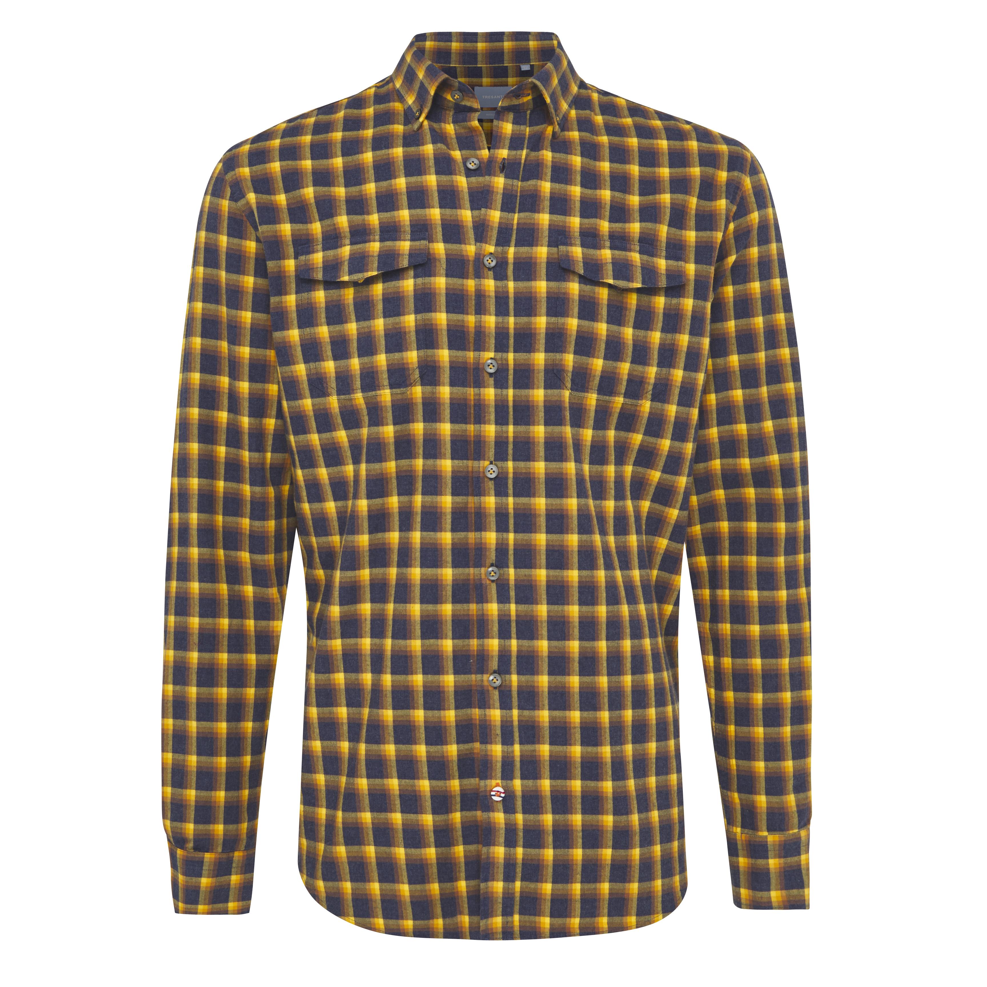 Joab | Checked flannel shirt