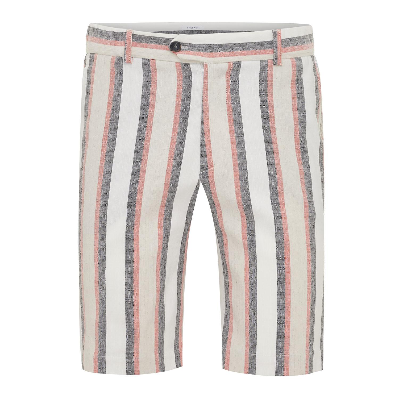Milo | Short jogger multi stripe pink
