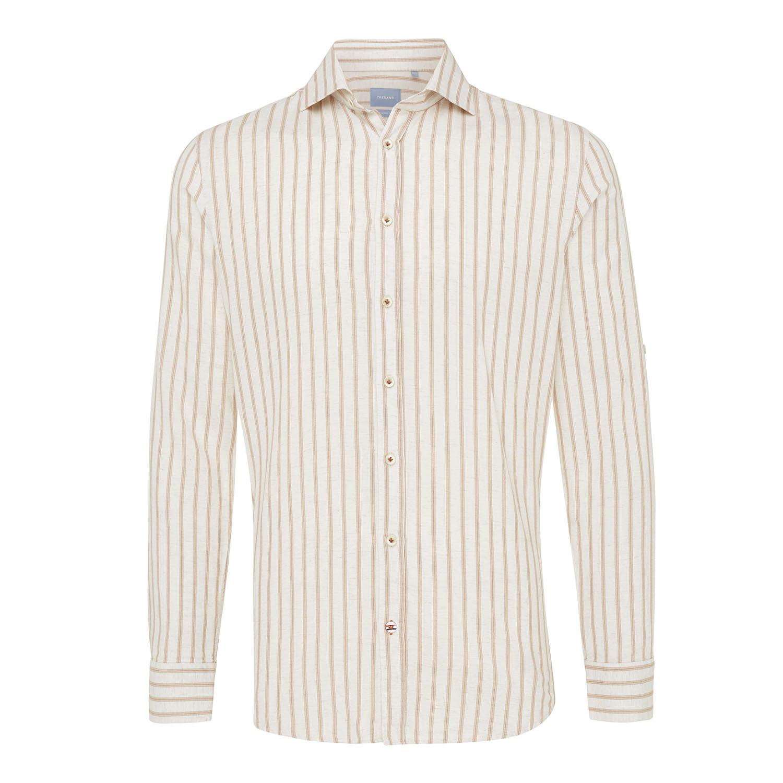Moos | Shirt vertical stripe pink