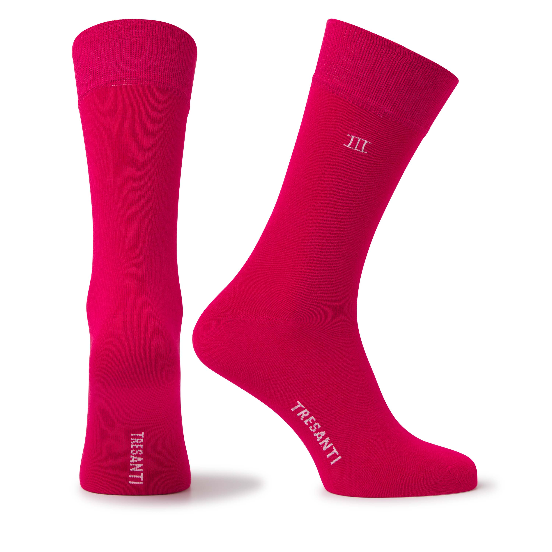 Socks bamboo red