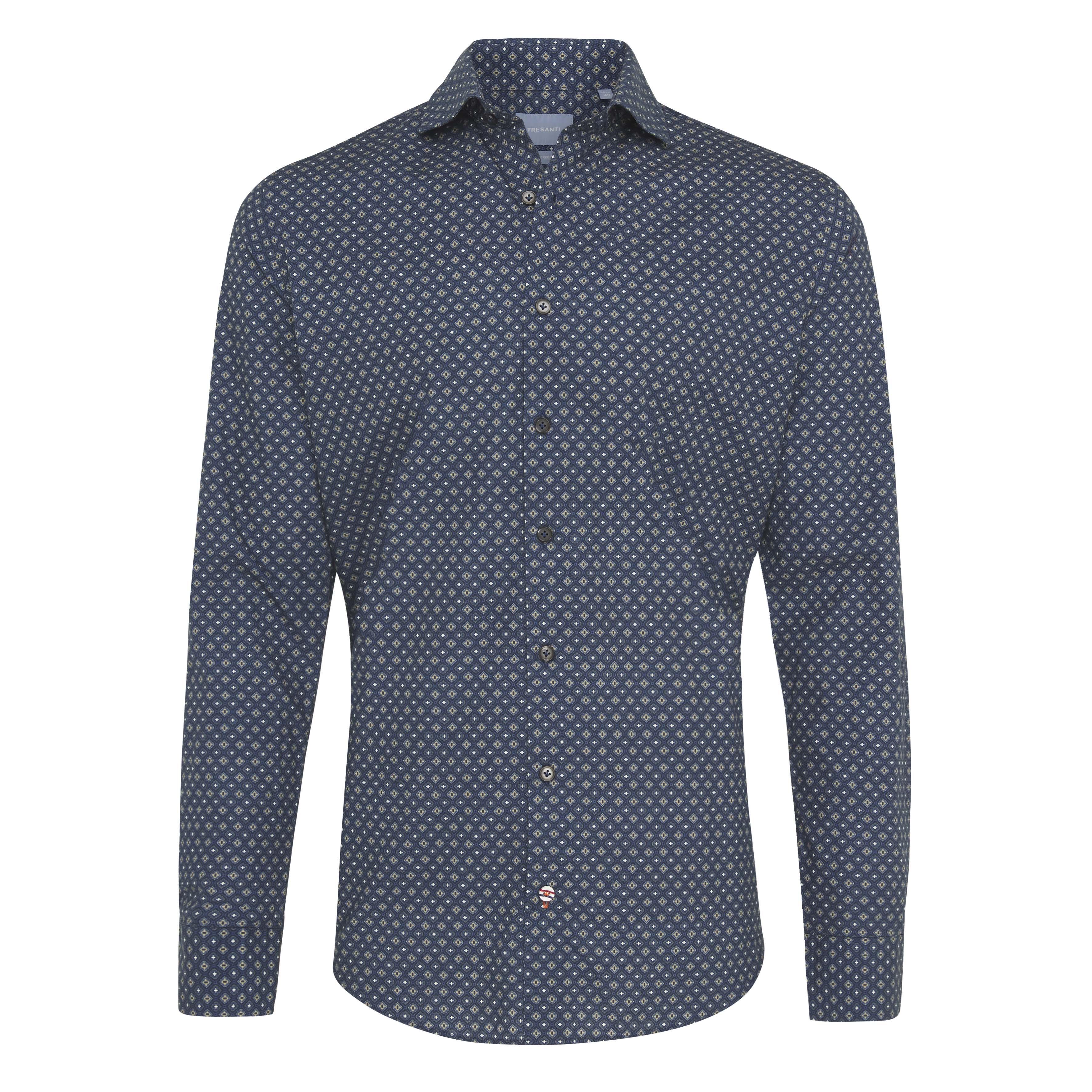 Jermo | Classic print shirt