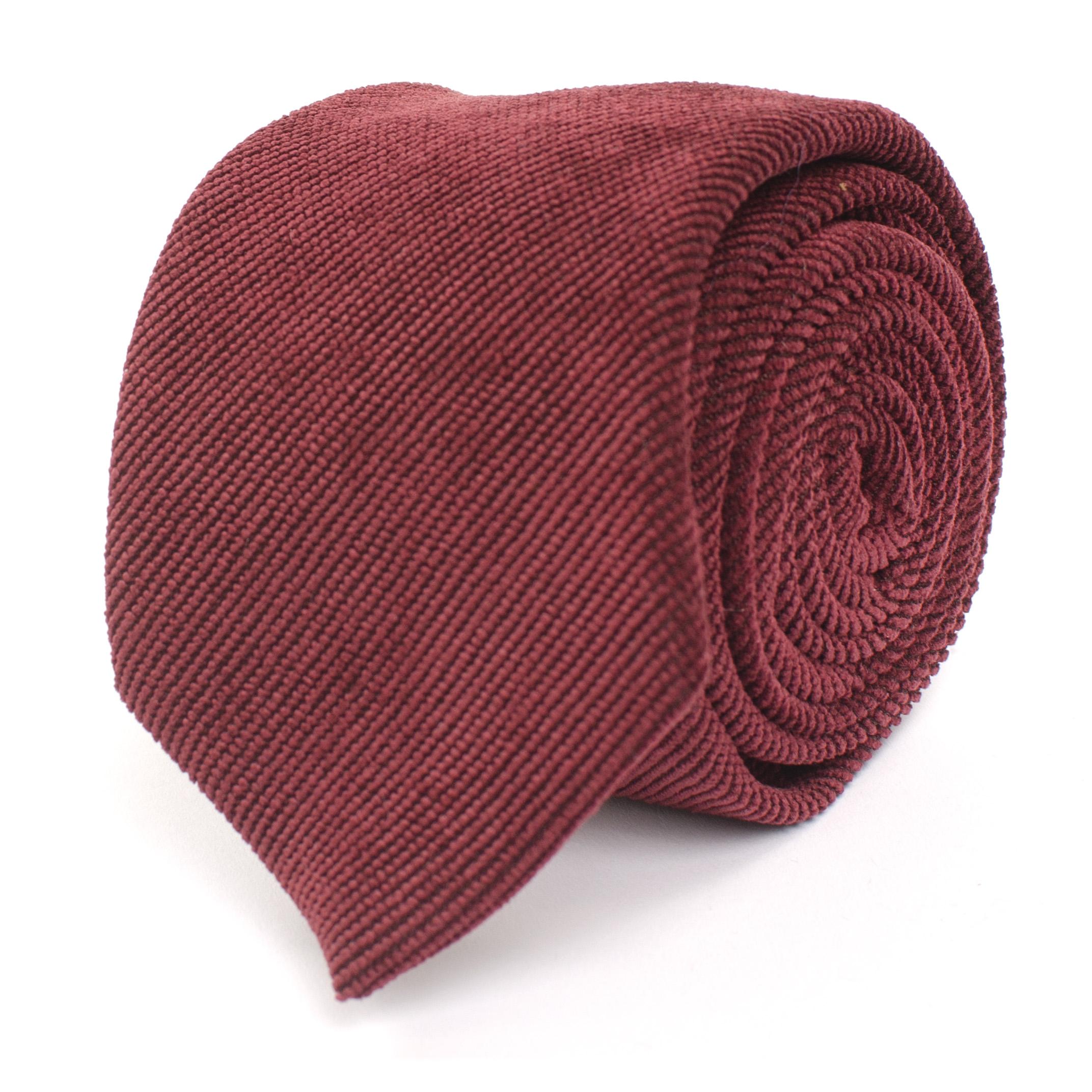 Jogchem | Tie corduroy burgundy