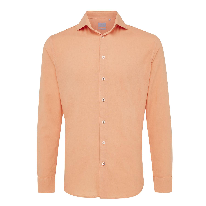 Maxim | Shirt cotton/linen pink